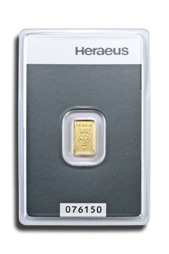 Picture of 1 g Minted Gold bar